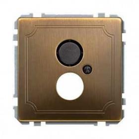 Накладка Merten System Design Античная латунь MTN297743