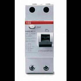 ELC2CSF202004R1250 Выключатель диф.тока(УЗО) FH202 2-полюса 25А 30мА тип AC