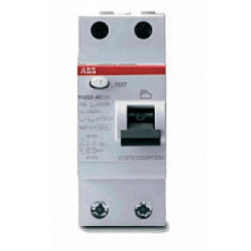 ELC2CSF202004R1400 Выключатель диф.тока(УЗО) FH202 2-полюса 40А 30мА тип AC