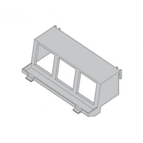 Суппорт на 3 механизма 45х45 мм (GB4  M6/45) 30903.69