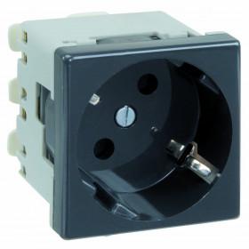 K01-14 Розетка 2к+з винтовой зажим 45х45 мм Simon Connect K45