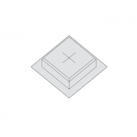 MHK Q2 Коробка для заливки под люк Q2, высота 50мм