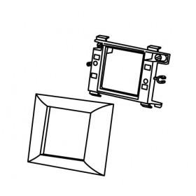 573909 Суппорт PMA-45/2 для 1-го механизма 45х45 мм для коробов серии  ARC-LAN, Белый
