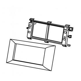 573915 Суппорт PMA-45/4 для 2-х механизмов 45х45 мм для коробов серии  ARC-LAN, Белый