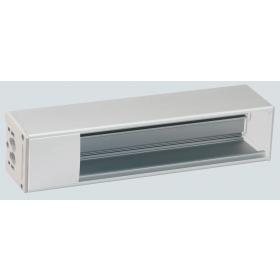 KFC110-9  Блок розеточный OFIBLOCK COMPACT на 10 механизмов 45*45мм (пустой), Белый