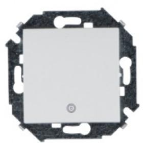 Кнопка Simon 15 с пиктограммой белый 1591150-030