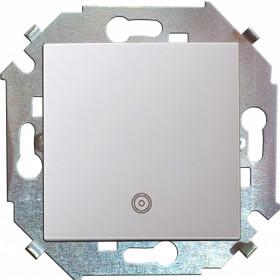 Кнопка Simon 15 с пиктограммой алюминий 1591150-033