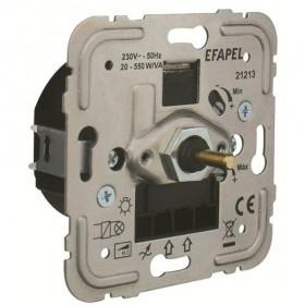 21213 Диммер 20-550Вт с 2-х мест для нагрузок R и C Efapel