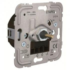 21214 Диммер 7-110Вт с 2-х мест для нагрузок R и L, LED и энергосберегающих ламп Efapel