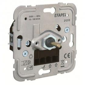 21215 Диммер 15-150Вт с 2-х мест для нагрузок R и C, LED и энергосберегающих ламп Efapel