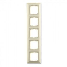 Рамка 5-ая ABB Basic 55 Слоновая кость 1725-0-1488 IP20