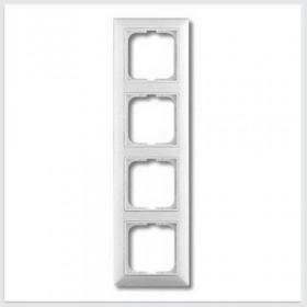 Рамка 4-ая ABB Basic 55 Белый 1725-0-1482 IP20