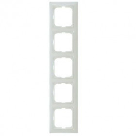 Рамка 5-ая ABB Basic 55 Белый 1725-0-1483 IP20