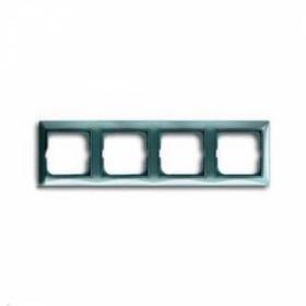 Рамка 4-ая ABB Basic 55 Bistro-Голубой 1725-0-1524 IP20