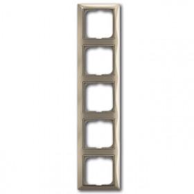 Рамка 5-ая ABB Basic 55 Maison-Бежевый 1725-0-1530 IP20