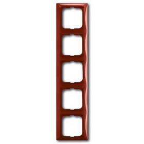Рамка 5-ая ABB Basic 55 Foyer-Красный 1725-0-1520 IP20