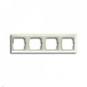 Рамка 4-ая ABB Basic 55 Chalet-Белый 1725-0-1514 IP20