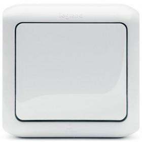 Выключатель Legrand Quteo Белый 782304 IP44 одноклавишный с 2-х мест