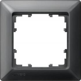 Рамка 1-ая Siemens Delta Line Черный 5TG25516 IP20
