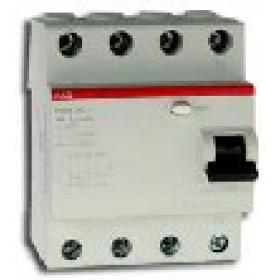 2CSF204004R1250 Выключатель диф.тока(УЗО) FH204 4-полюса 25А 30мА тип AC