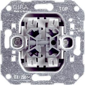 010800 Механизм Переключателя 2-клавишного Gira