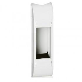 31066 Розеточный блок для колонн DLP на 4 механизма 45х45мм, БЕЛЫЙ