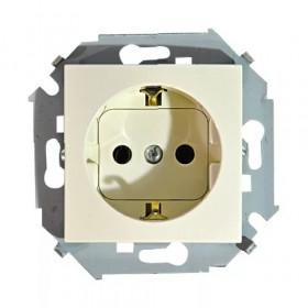1591432-031 Розетка Simon 15 Слоновая кость IP20