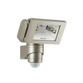 646318 HS 150 DUO Галогенные прожектор R7s 150Вт с датчиком движения, угол 240гр, ПЛАТИНОВЫЙ