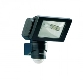 633011 HS 150 DUO Галогенные прожектор R7s 150Вт с датчиком движения, угол 240гр, ЧЁРНЫЙ