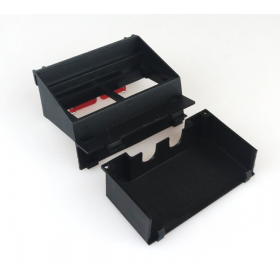 Суппорт на два модуля 45х45 для люка Electraplan Q02 + изолирующий GBPM4 2х45 S 30903.09+32907.09
