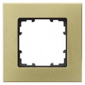 Рамка 1-ая Siemens Delta Miro Оксидный желтый 5TG11213 IP20