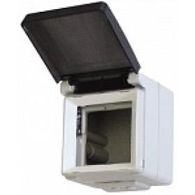 Коробка наружного монтажа 1-ая Efapel 48 Белый 48998 CBR IP65