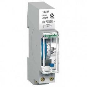 15331 Реле времени электромеханическое недельное 1-канальное(IHH 7j 1c ARM) 16А с запасом хода