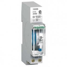 15336 Реле времени электромеханическое суточное 1-канальное(IH 24h 1c ARM) 16А с запасом хода