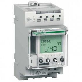 CCT15403 Реле времени электронное недельное/суточное 2-канальное (IHP+2c)