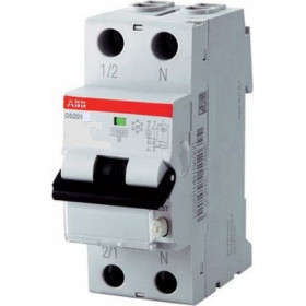 "2CSR245040R1254 Дифференциальные авт.выключатель(DS201 L) 1Р+N 25А 30мA 4.5кА хар.""C"" тип АС"