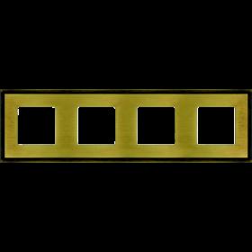 FD01244PM Рамка 4-я(MADRID), Bright Patina