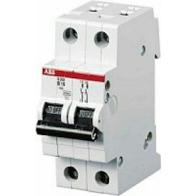 "2CDS242001R0634 Автоматический выключатель 2-полюса 63А хар. ""С""  4,5кА (ABB SH202L)"