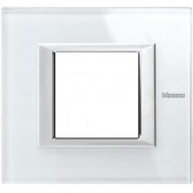 Рамка 1-ая Bticino Axolute White HA4802VSW IP20