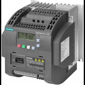 6SL3210-5BE23-0CV0 Преобразователь частоты (SINAMICS V20) 3 фазы, 400V, мощность 3,0кВт с фильтром