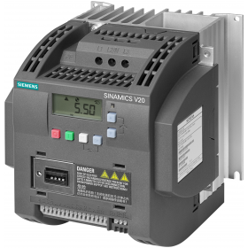 6SL3210-5BE24-0UV0 Преобразователь частоты (SINAMICS V20) 3 фазы, 400V, мощность 4,0кВт