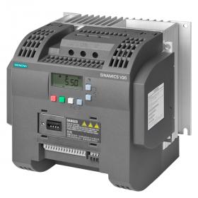 6SL3210-5BE25-5CV0 Преобразователь частоты (SINAMICS V20) 3 фазы, 400V, мощность 5,5кВт с фильтром