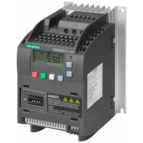 6SL3216-5BE17-5CV0 Преобразователь частоты (SINAMICS V20) 3 фазы, 400V, мощность 0,75кВт с фильтром