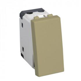 850101 Выключатель 45х22,5 мм 16A (LK45), БЕЖЕВЫЙ