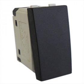 850108 Выключатель 45х22,5 мм 16A (LK45), ЧЁРНЫЙ