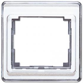 Рамка 1-ая Jung SL 500 Белый SL581WW IP20
