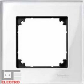 Рамка 1-ая Merten M-Elegance Белый Бриллиант MTN404119 IP20
