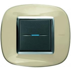 Рамка 1-ая Bticino Axolute Бежевая карамель HB4802DA IP20