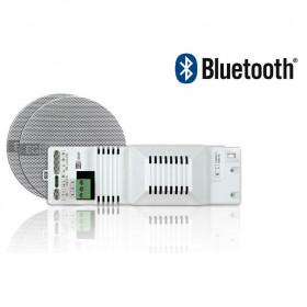 """041018 EGI Встраиваемое радио для ванной комнаты FM с Bluetooth + динамика 3"""" (2 шт)"""