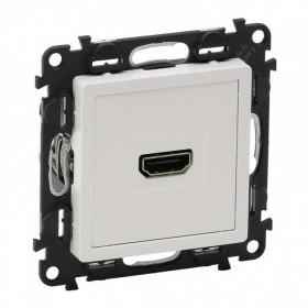 753171 Розетка HDMI Тип А Legrand Valena Life Белый